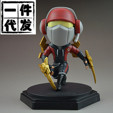 NEW hot 13cm SKT The Master of Shadows Zed action figure toys collection doll Christmas gift no box