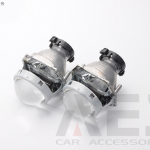 Free Shipping New Product HID Bi Xenon Projector Lens Kit 2PCS High Clear Glass Lens For Projector For H4 H7 Headlight