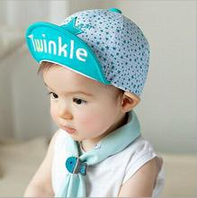 1 Piece Cotton Star Toddlers Infant Sun Summer Outdoor Baby Girls Unisex Boys Hats Baseball Cap Beach Cute Letter 3 Colors