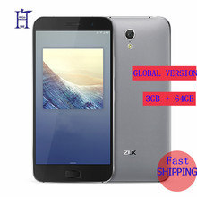"Original Lenovo ZUK Z1 3G RAM 64G ROM Global Version Quad Core Snapdragon 801 LTE 4G 4100mAh  5.5 "" 13.0MP  Mobile Phone"
