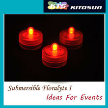People Loved 100 Red Color Small Battery Operated Shenzhen High Quality Submersible Mini LED Centerpiece Light For Wedding