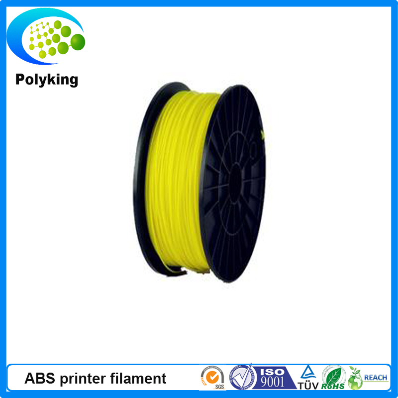 3mm Yellow ABS PLA 3D Printer Consumables-1kg Spool-Dimensional Accuracy+/-0.05mm<br>