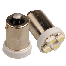Best Price T11 BA9S 1895 T4W 363 4 LED 3528 SMD White Car Auto Side Wedge Lights Lamp Bulb DC12V