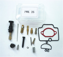 Moto Kit De Réparation 26 MM Carburateur Kits De Réparation pour PWK KEIHIN OKO Carburateur Carburador Kit De Réparation De Rechange Jets Ensembles Un Pack(China)