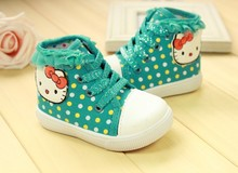 baby girl Shoes  New Children Canvas Shoes girl Sneakers baby Girls Hello Kitty shoes Child Toddler Girl Carton Sneakers