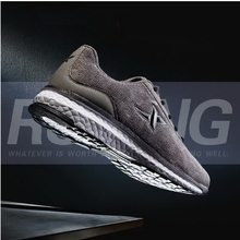 260311/Men's sports shoes / spring / light / shock / breathable / leisure travel running shoes/Super fiber fabric/Anti-skid wear