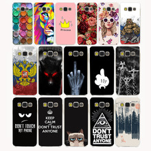 4G Colorful Printing Hard Transparent Case Cover for Galaxy S6 S7 S8 & edge Plus S2 S3 S4 S5 & Mini case