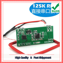Buy Free 3pcs RFID reader module RDM6300 RF module 125khz card reader UART serial output 125 KHZ board, C1B3 for $11.78 in AliExpress store