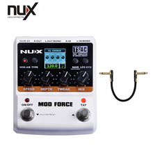 NUX Guitar Effect Pedal/Stomp Boxes/Force series/MOD FORCE Multi Digital Delay Guitar Pedal Free Shipping(China)