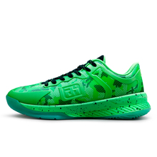 Men Sport Shoes Snakeskin upper men basketball Male Shoes Basket de marque femme bambas Men krasovki GreenMamba(China)