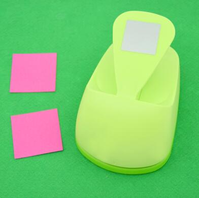 free shipping 3(7.6cm) square shape EVA foam save power craft punch DIY puncher greeting card puncher Scrapbook puncher<br>