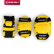 WINMAX Outdoor & Indoor 6 Pcs Protective Pad Set Gear Sports Military Knee Elbow Protector Elbow & Knee Pad for Kid(China)