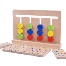 1 Set Four Color Cognitive Toys for Children Early Childhood Montessori Teaching Aids Enlightenment Kids Educational Game Gifts(China)