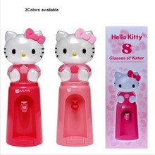 1Piece 2.5 Liters Mini Water Dispenser 8 Glasses Water Dispenser Hello Kitty Style Free ship