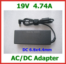 AC Power Adapter 19V 4.74A 90W DC 6.5x4.4mm Power Supply r Charger  for Sony Laptop High Quality
