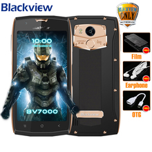 "Blackview BV7000 Mobile Phone MT6737T Quad Core 5.0"" FHD 2G+16G IP68 Waterproof Glonass NFC Dustproof 4G Fingerprint Smartphone(China)"