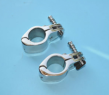 "2pcs JAW SLIDE Hinged 22mm 7/8"" Bimini Top Stainless Steel Marine Hardware Fitting"