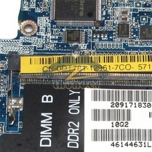 LA-3301P for dell latitude d630 laptop motherboard gm965 gma x3100 ddr2 free cpu(China)