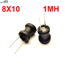 10PCS/lot 8*10 1MH  I-shape H Power Inductor  Winding inductance