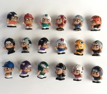 50pcs/lot Wholesale MLB NFL AFL USFL Rugby US Football/Baseball Star Player mini cartoon cute figures toy for boy Xmas gift