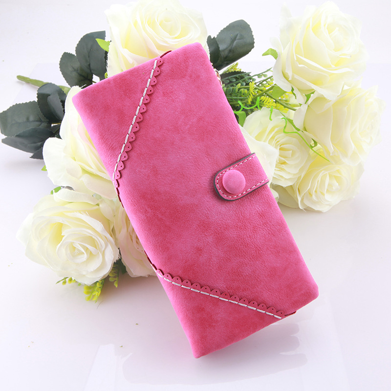 2017 Hot Women Wallets Vintage Female Long Matte PU Leather Hasp Clutch Wallets Coin Purses Card Holder Handbag Monedero<br><br>Aliexpress
