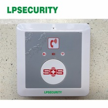 2pcs/lot Elderly GSM Alarm System with SMS Call to Mobile Phone K1 free shipping(China)