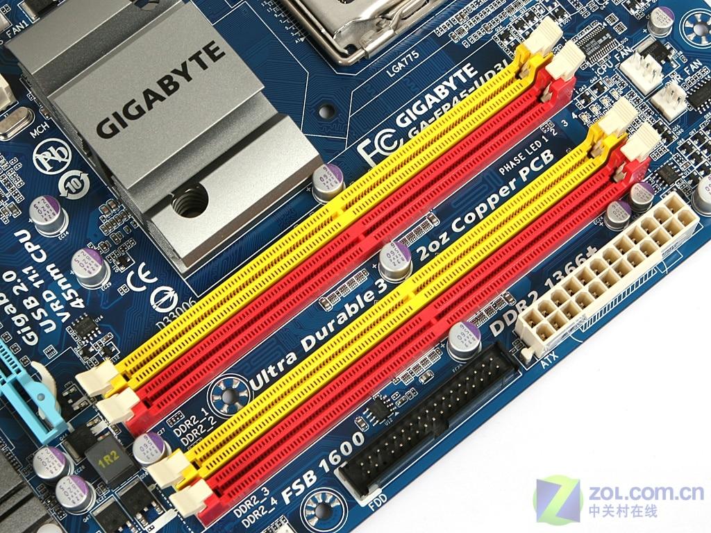 Интернет магазин товары для всей семьи HTB1JgROaFooBKNjSZPhq6A2CXXaT Гигабайт GA-EP45-UD3L EP45-DS3L материнская плата LGA 775 DDR2 настольный компьютер Плата EP45-UD3L P45 используется 5 PCI-E добыча Слоты используются