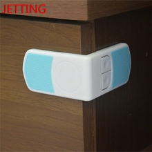 Jetting HOT 1 Pcs Baby Safety Lock Care Child Safety Cabinet Drawer Cupboard Refrigerator Toilet Door Closet Plastic Locks