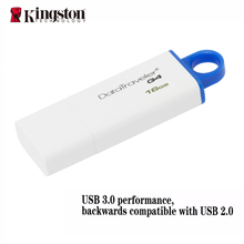 Kingston usb 3.0 flash pen drive 16gb 32gb  pendrive stick brand memoria mini usb pen-drive caneta memory driver