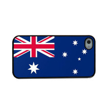 Flag of Australia Cover Case For iphone 4 4S 5 5s 5c 6 6 plus for samsung s3 s4 s5 note 3 4