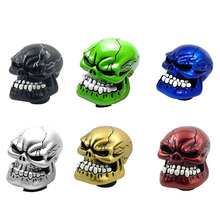 Creative Skul Shiftl Manual Automatic Gear Shift Knobs Skull Gear Knob Personality AT MT Shift Gear Knobs Interior Accessories
