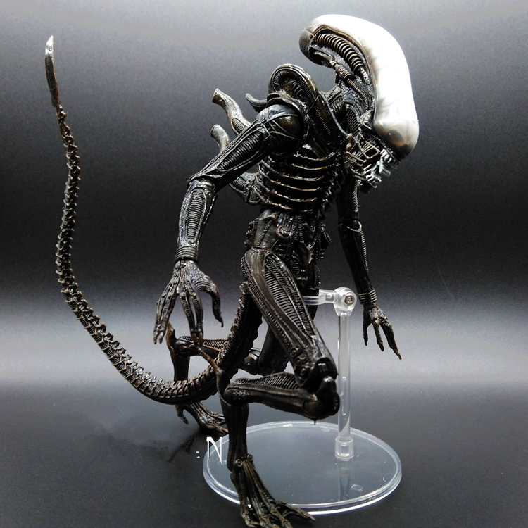 1pc Alien vs Predator Mixed human AVP ABS 23cm Action Figure Model Collectie kids toy MOVIE Film Brinquedos opp BAG<br>