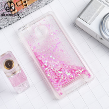 AKABEILA Glitter Liquid Soft TPU Case For Xiaomi Redmi 3S Redmi 3 Pro Redmi 3S Pro Covers Silicone Phone Case Back Cover