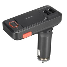 High Quality Wireless Bluetooth LCD MP3 Player Car Kit FM Transmitter Hansfree USB/TF/AUX-IN Support TF Card