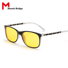 Anti Blue Ray Reading Computer Goggles Viewing Sun Glasses Fashion Rimmed Square Frame Sunglasses Eyewear Accessories