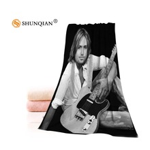 Hot Custom Keith Urban Towel Printed Cotton Face/Bath Towels Microfiber Fabric For Kids Men Women Shower Towels A7.24-1(China)