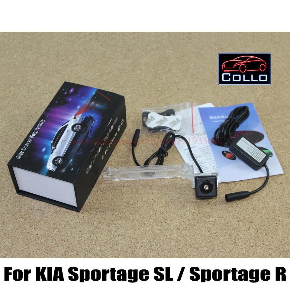 12V Car Styling Safety Laser Fog Light For KIA Sportage SL / Sportage R 2010~2015 / Fog Snow Rain Haze Bad Weather Warning Lamp<br><br>Aliexpress