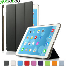 Ultra Slim Magnetic Smart Case for iPad 2 3 4 Stand Leather Cover Shell Protector For Ipad mini 1 2 3 Auto Wake /Sleep A0910(China)