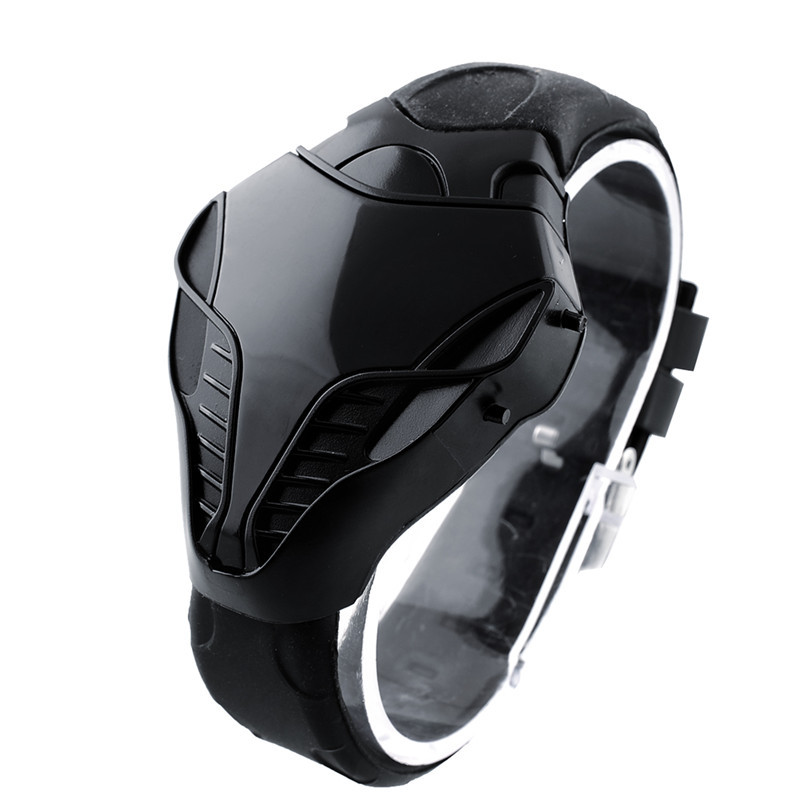 Digital Watch Electronic-Watch Cobra Sports Silicone Men's Fashion Leisure title=