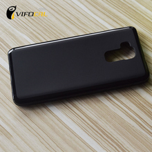 Doogee Y6 Case TPU Silicon Matte Comfortable Protective Back Cover For DOOGEE Y6C Y6 Piano Black Mobile Phone