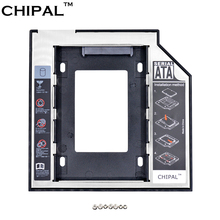 CHIPAL SATA to SATA 2nd HDD Caddy 9.5mm for 9mm 9.5mm SSD Case Hard Disk Drive Enclosure Bay for Notebook ODD Optibay DVD-ROM(China)