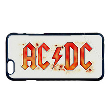 AC / DC Black Ice Tour Cover Case for LG G2 G3 G4 iPhone 4 4S 5 5S 5C 6 6S 7 Plus iPod Touch 4 5 6