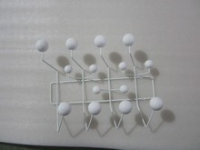 White color Edisson home as typical fashion candy Hang It All coat rack hook coat hangers