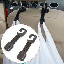 1 Pair Multi-function Car Seat Back Seat Hook for Bag Purse Cloth Grocer Auto Hangers Can Placed Under 1.5kg Weight Things
