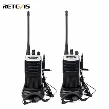 2pcs Retevis RT7 Portable Walkie Talkie 5W UHF 400-470MHz FM Radio(88-105MHz) CTCSS/DCS Scan Handheld Ham Radio Hf Transceiver