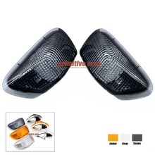 For KAWASAKI ZZR 400 ZZR600 ZZR400 ZX600E 1990-1992 Motorcycle Front Turn signal Blinker Lens Smoke