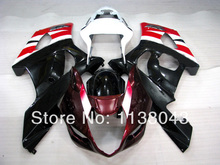 Injection For SUZUKI GSX-R1000 K3 03 04 Black Red G436 GSX R1000 K3 GSXR 1000 2003 2004 GSXR1000 Fairing Kit