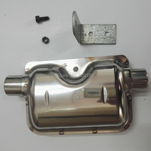 Muffler for Eberspacher air parking heater; 2Kw 5KW parking heater in diesel truck, boat, Rv, Camper,bus, caravan,Motor home!