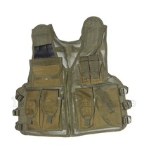 Adjustable Tactical Assault Vest Combat Military Army Airsoft Carrier Molle Mesh Vest Outdoor Hunting Paintball Fishing Net Vest(China)