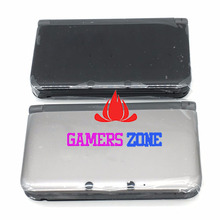 Original Black Silver Housing Shell Case For 3DS LL / 3DS XL